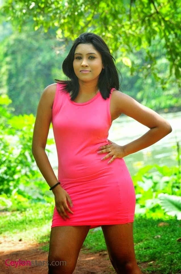Sachi Wickramasinghe pink sexy