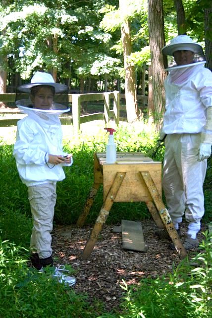 My favorite beekeepers.