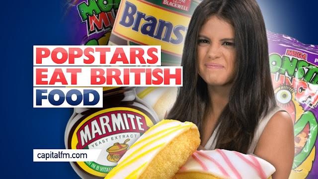 Artistas Pop prueban comida británica por primera vez (VIDEO)