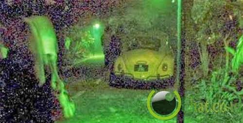 Mobil Volkswagen Kuning