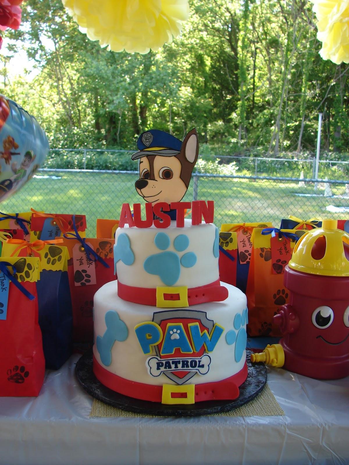 Paw Patrol Cake Was Amazing