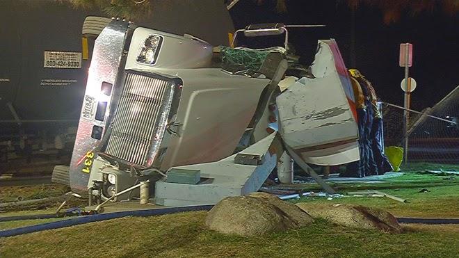 kern county oildale train crash big rig norris road manor street