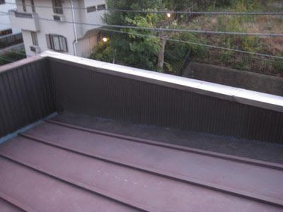 横浜市 港北区 笠木 立ち上がり 雨漏り修理 仕上がり 内樋回り