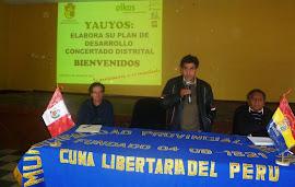 ELABORANDO EL PDC DE YAUYOS (DISTRITO)
