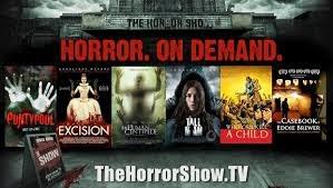 horror tv poster