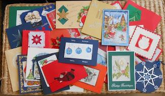Creaties Suzan op FB- Recycling oude kaartjes