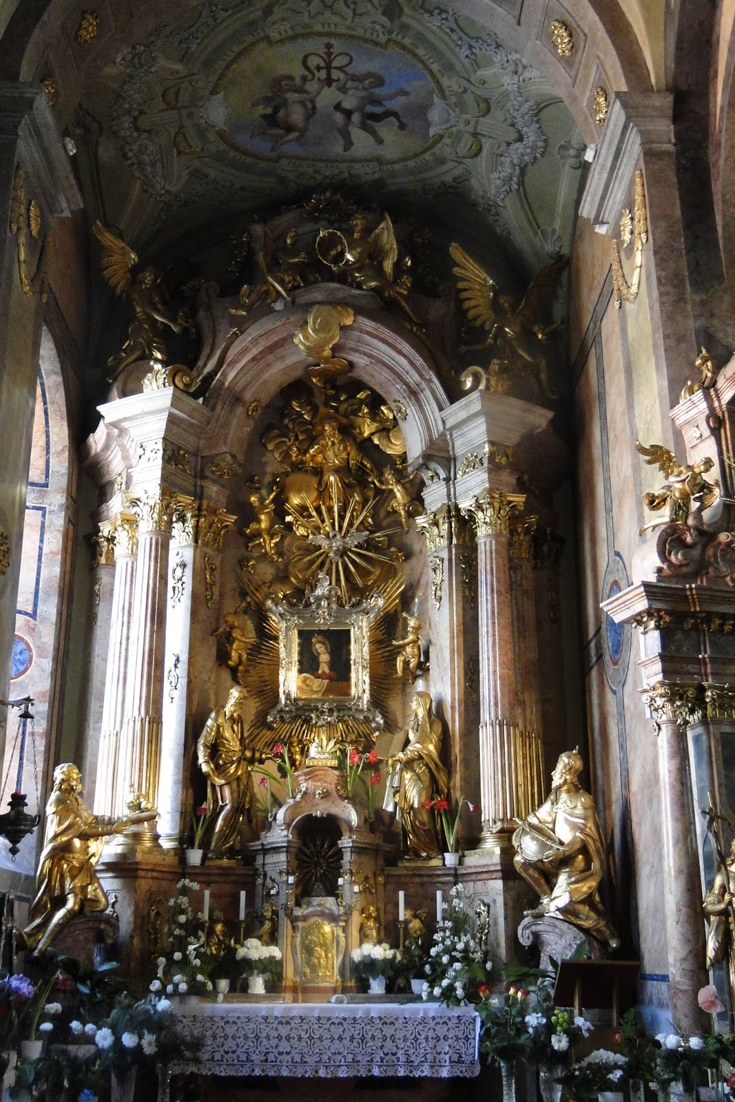 Baroque Interior Architecture The Interior Was Built From