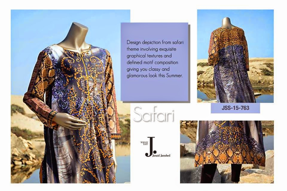 Junaid Jamshed New Women Dresses 2015