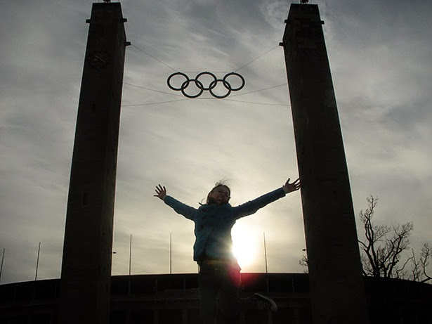 Olympic Stadium in Berlin, Germany