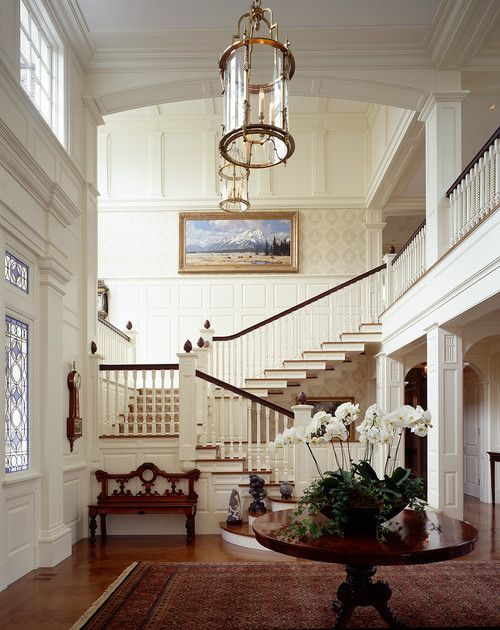 Elegant Foyers Pictures : Eye for design the timeless appeal of white foyers