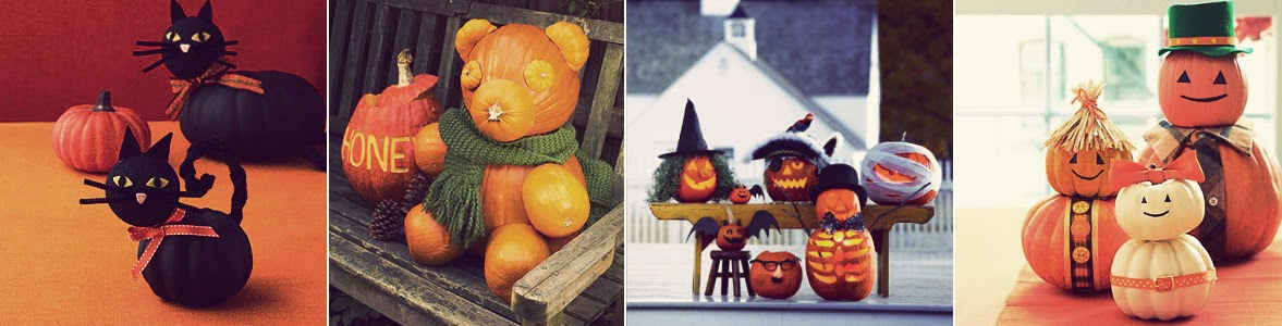 Pumpkin Carving Decorating Ideas