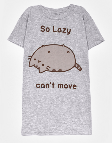 So Lazy Pusheen T-Shirt