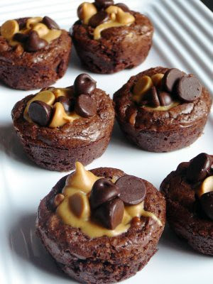 Peanut Buttercup Brownies