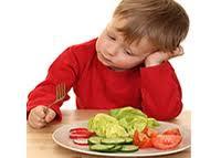 criança negar comer