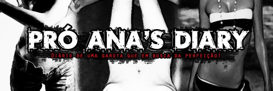 Pro Ana's Diary