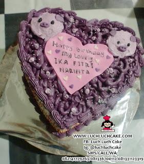 Kue Tart Babi Romantis Surabaya - Sidoarjo