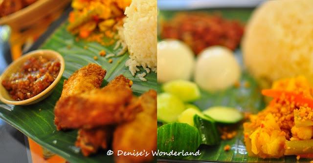 Nasi lemak or coconut milk rice
