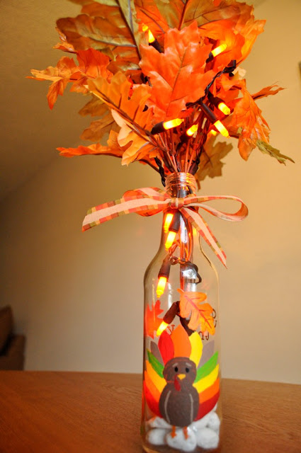 DIY Thanksgiving Wine Bottle