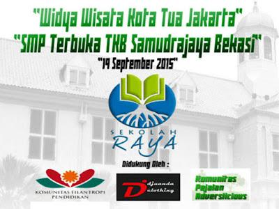 Sekolah Raya Widya Wisata SMP Terbuka ke Kota Tua Jakarta