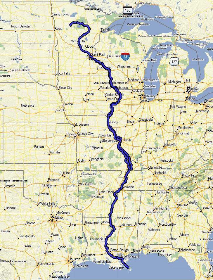 Mississippi River Map Car Tuning Car Tuning