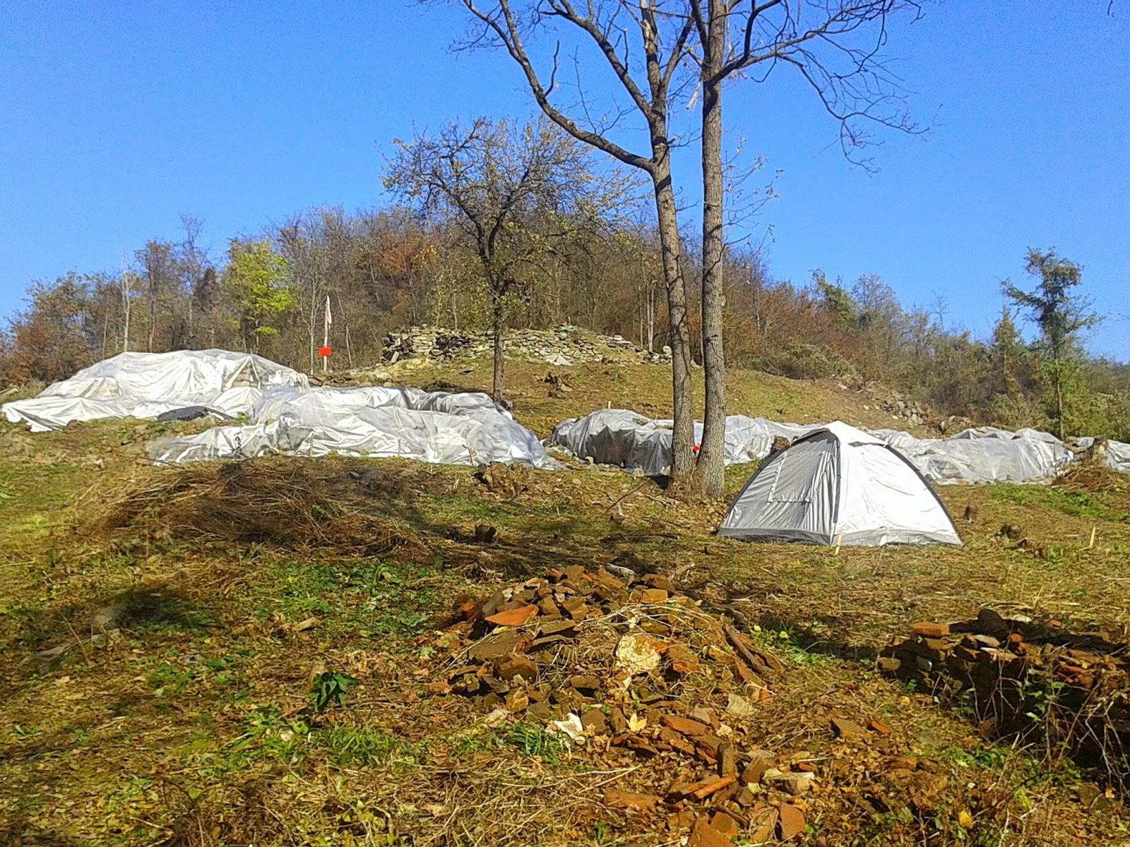 В началото на есента руините на крепостта Урвич са консервирани