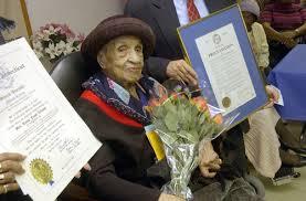 Elizabeth Bolden wanita tertua di dunia