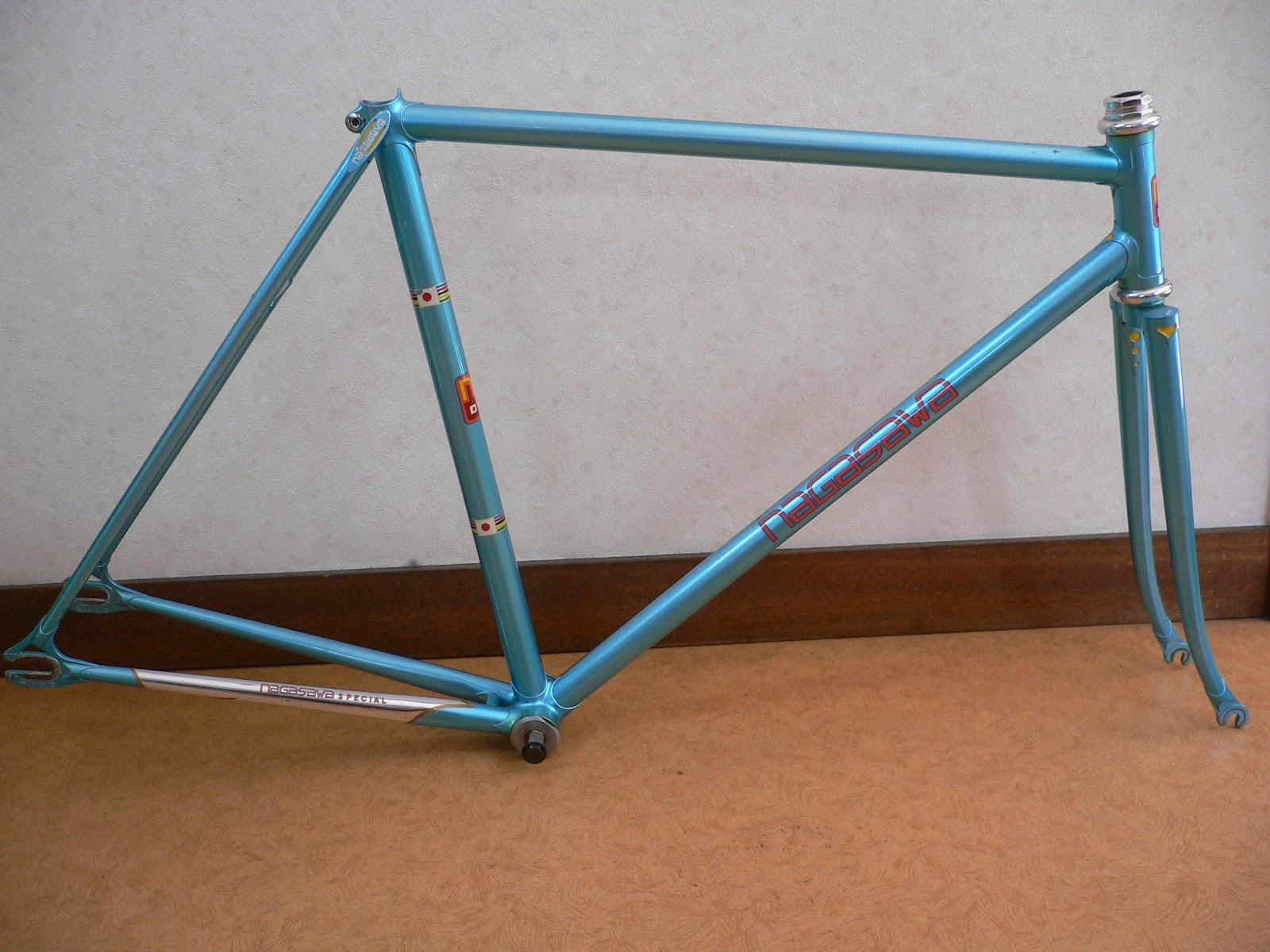 njs keirin track bike &frame for sell: NAGASAWA njs keirin frame for ...