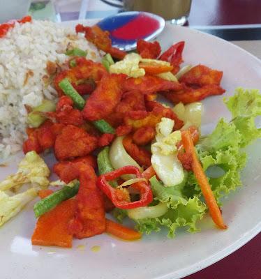 Resepi Ayam Goreng Kunyit Ala Thai