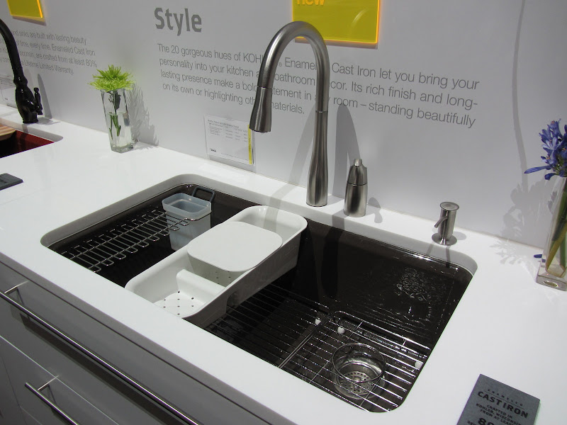 Not just cabiaccessories, but sink accessories too. Both sinks  title=