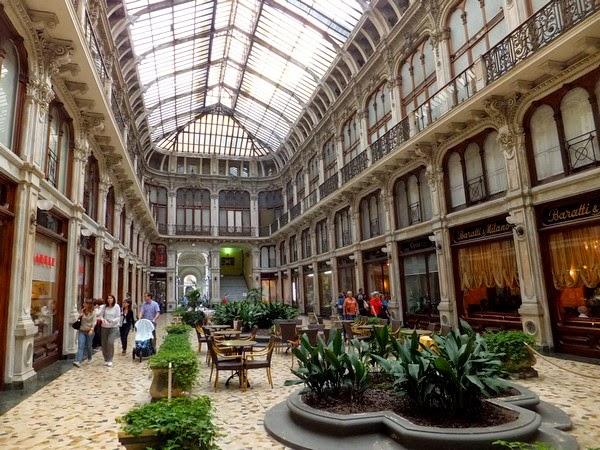 Turin Italie galleria subalpina