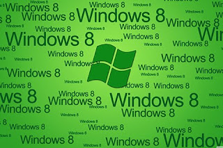 green color windows 8 mobile background for all kind of mobile types and screen size