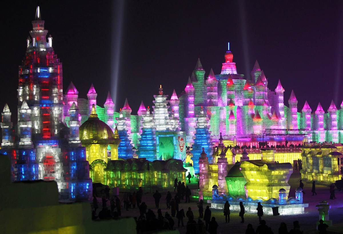 Harbin China  City pictures : WHAT HUMANS DO: HARBIN ICE FESTIVAL, CHINA