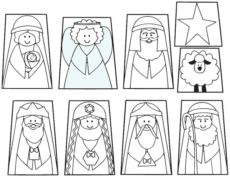 Adorable image with regard to nativity printable
