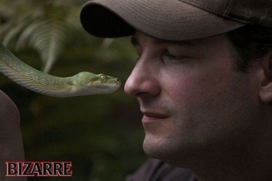 Man Self-Injects Snake Venom to Boost Up His Immunity