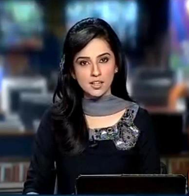 pakistan geo news six female anchors images of the day