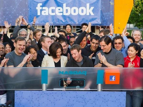 Facebook chính thức lên sàn chứng khoán