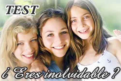 TEST : ¿ Eres inolvidable ? de Guapa al instante blog de belleza y maquillaje