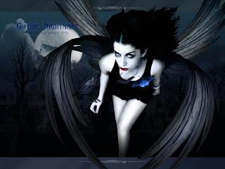 Gothic Nightmare Dark Wallpaper