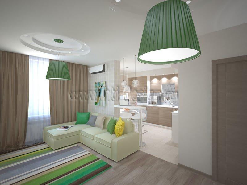 Квартира с мебелью IKEA