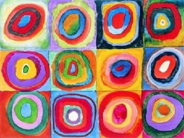 Il Laboratorio dei colori | Wassily Kandinsky 1866-1944