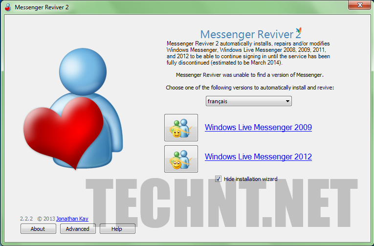 كيف تسترجع برنامج msn والدردشة مع جميع أصدقائك - التقنية نت Technt.net