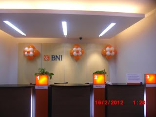 bunga balon - bank bni