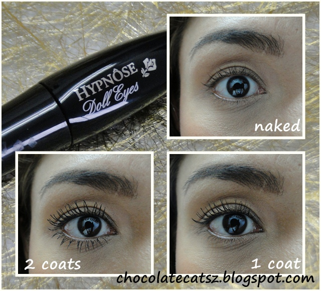 chocolate cats review lancome hypnose doll eyes mascara. Black Bedroom Furniture Sets. Home Design Ideas