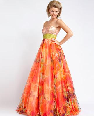 orange-print-prom-dress