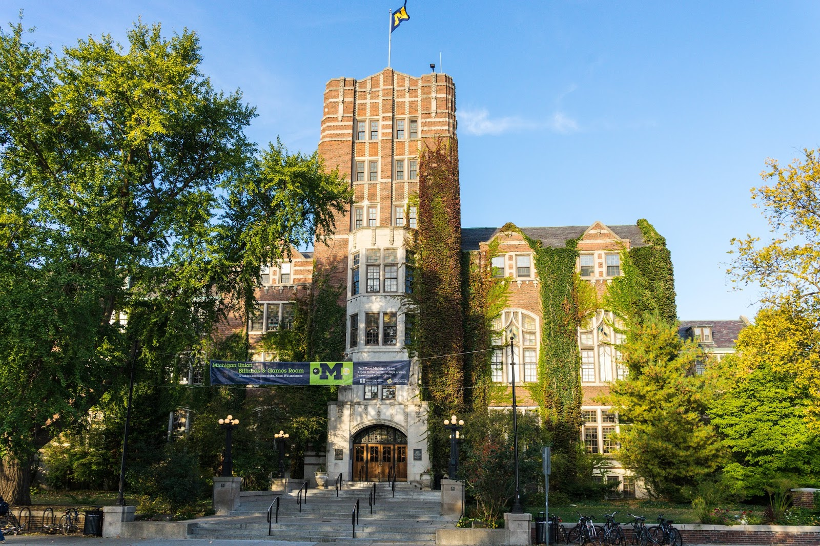 Shot of the day university of michigan student union for Home building companies in michigan