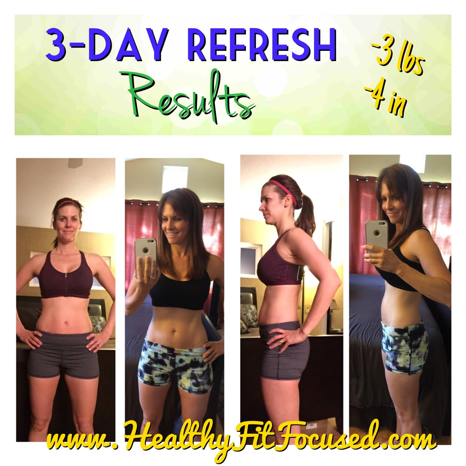 3 Day Refresh Results, Failing Forward, Seeing Failure as a Positive Experience in your life, focus on your personal development, www.HealthyFitFocused.com
