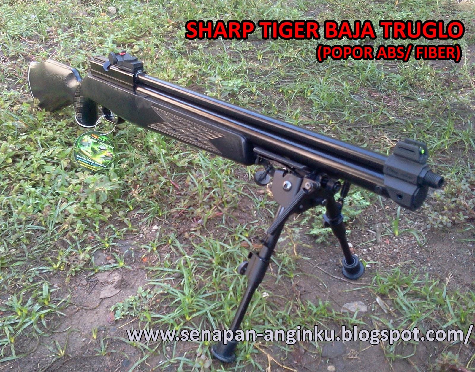 Sharp Tiger Laras Baja Truglo Popor Abs   Fiber