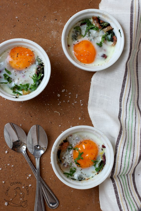 jajka z botwinka