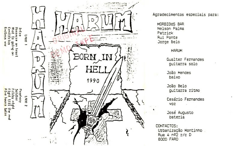 Harum - Born In Hell