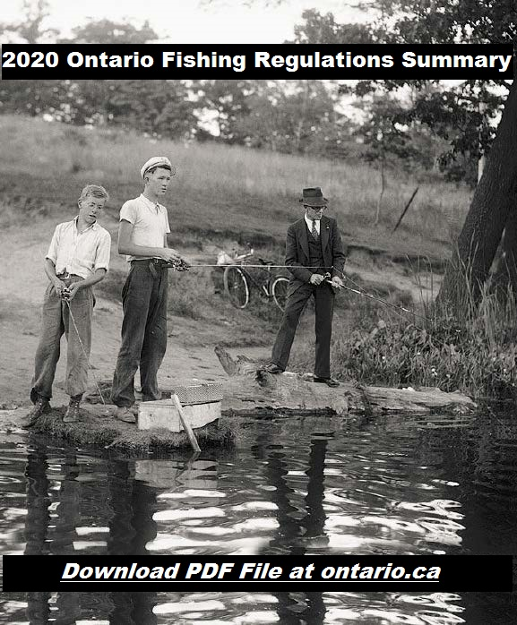 2020 ONTARIO FISHING REGULATIONS